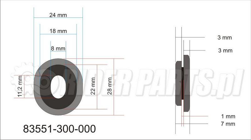 Honda 83551-300-000